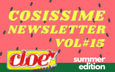 VOLUME #15 COSISSIME (wannabe)Cioé